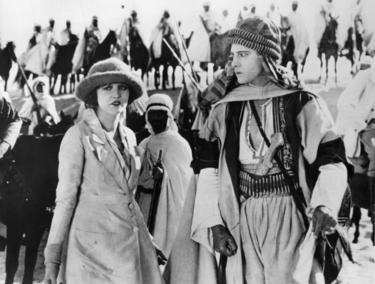 Rudolph Valentino in &quot;The Sheik.&quot; 